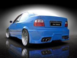 Heckstoßstange BMW E36 Compact